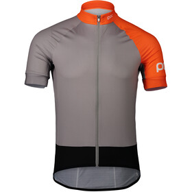 POC Essential Road Trikot Herren granite grey/zink orange